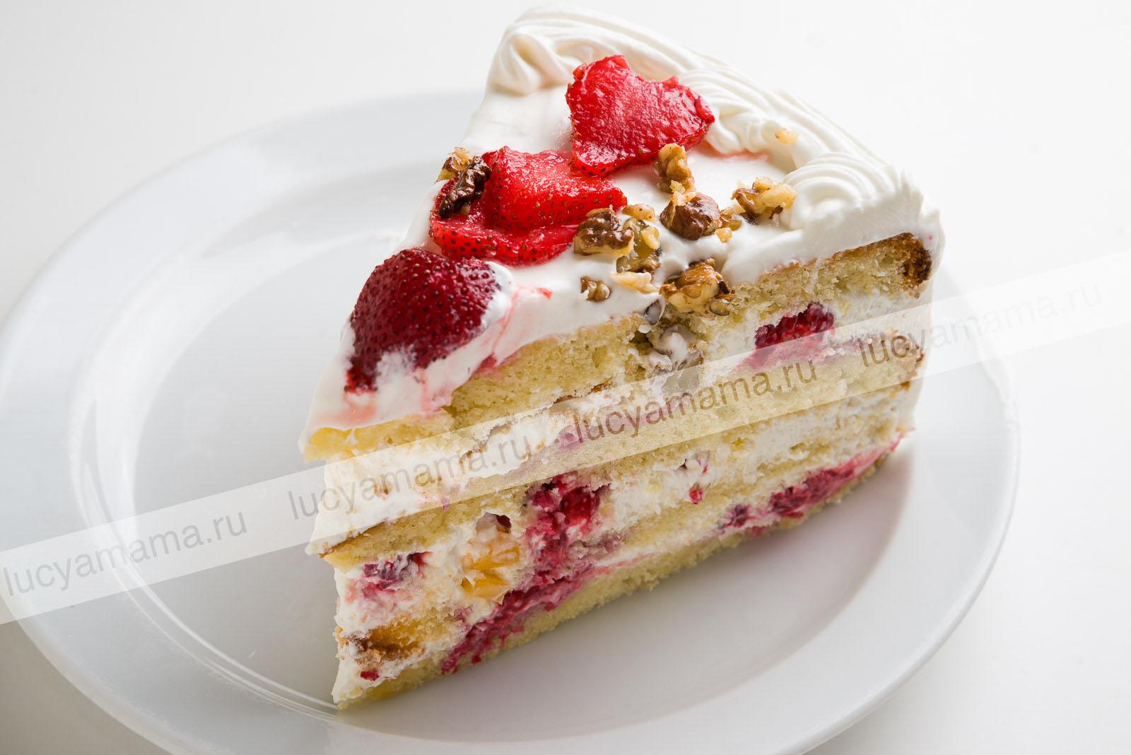 Торт бискивитный