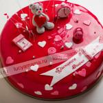 торт, детский торт, день рождения, мастика, мишка тедди