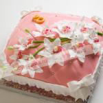 торт, свадебный торт, мастика, цветы, орхидеи, подушка