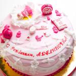 торт, мастика, панчо, для новорожденной