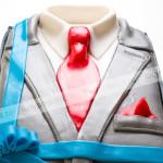 торт, мужской костюм, панчо, мастика